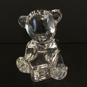 NWOT Waterford Crystal Teddy Bear. PRICE FIRM